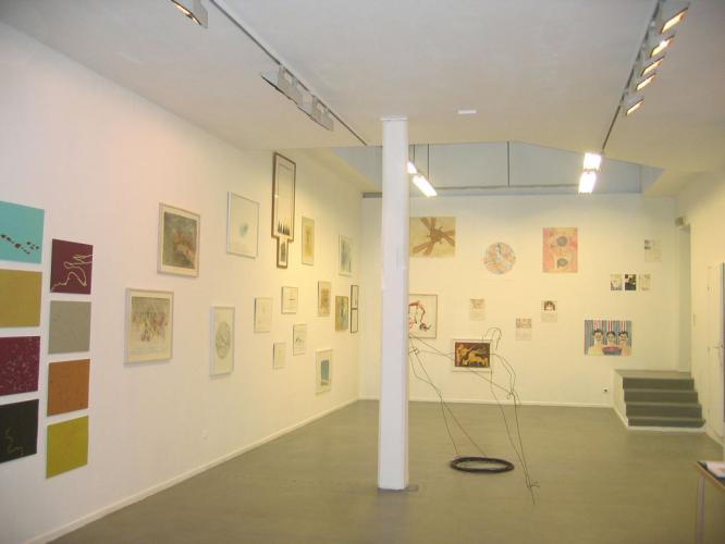 Exhibition view at the Galerie Eric Dupont, 2005-2006.