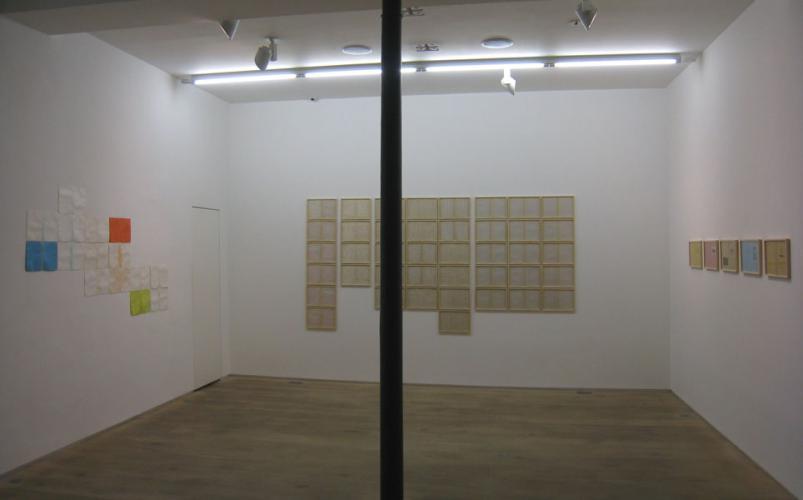 """Exhibition view, """"Migrants"""", 2012."""