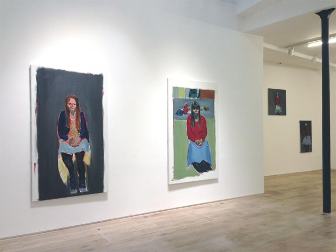 Exhibition view 2013 © Courtesy Galerie Eric Dupont, Paris